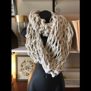 Accessories - Hand knitted Infinity Scarf ⭐️❤️Made with love❤️⭐️
